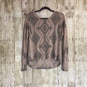 NWOT Full Tilt Aztec Pattern Sweater